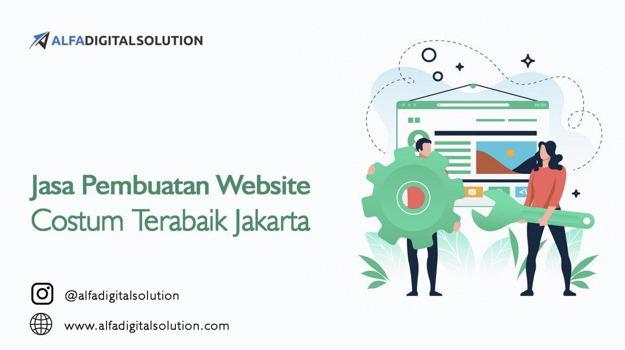 Jasa Pembuatan Website Custom Terbaik Jakarta