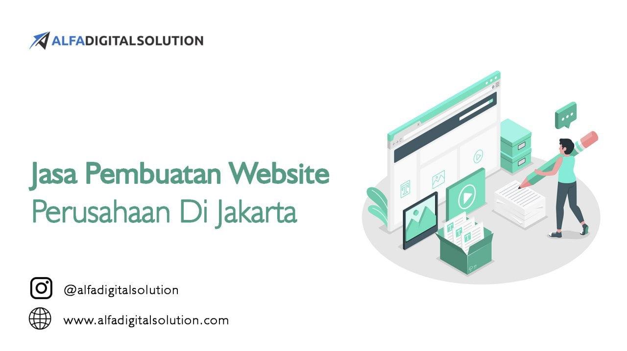 Jasa Pembuatan Website Perusahaaan Jakarta